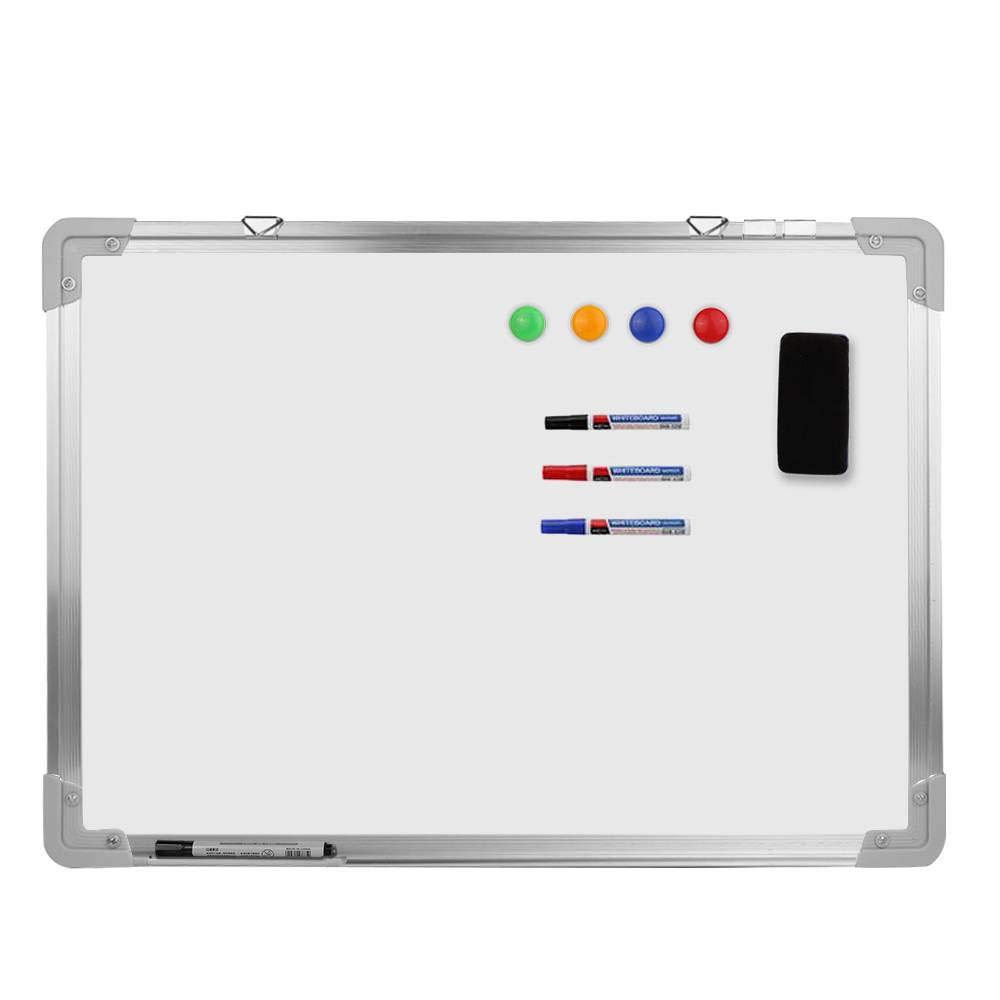 Home/Office 48x 36 Magnetic Dry Erase White Board with 1 Eraser,3 Markers,4 Magnets WGS 48 x 36