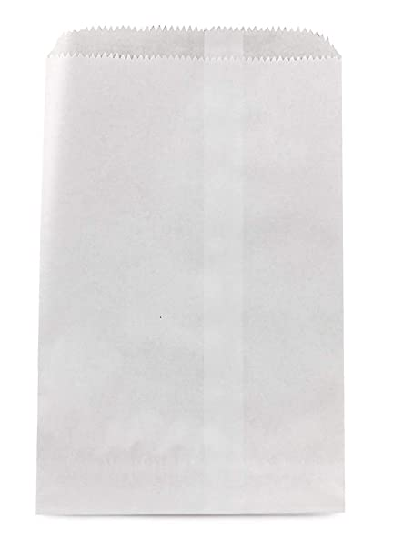 photograph regarding Printable Paper Bags named Hygloss Pinch Backside Paper Luggage, 8.5 by way of 11-Inch, White, 50-Pack