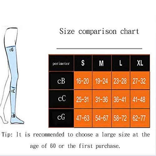 DONGBALA Varicose stockings medical male and female nursing calf elastic treatment type nurse anti-thrombosis varicose socks