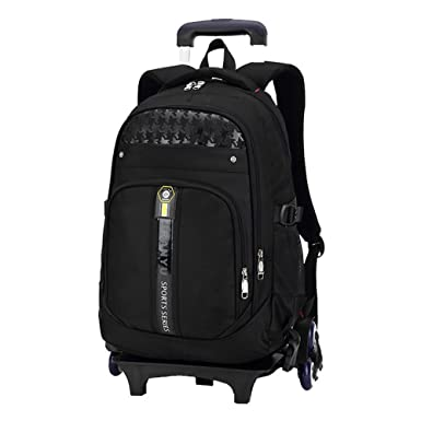 Amazon Com Fec Children Backpack School Bags Students Trolley