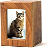 Near & Dear Pet Memorials MDF Pet Photo Cremation Urn