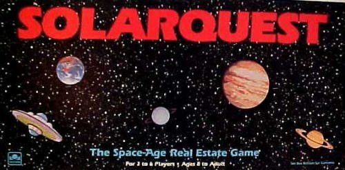 - Solarquest The Space-Age Real Estate Game