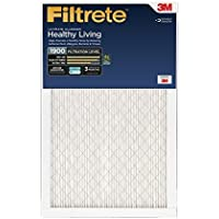 Filtrete Healthy Living Ultimate Allergen Reduction Filter, MPR 1900, 14 x 25 x 1-Inches, 6-Pack by 3M