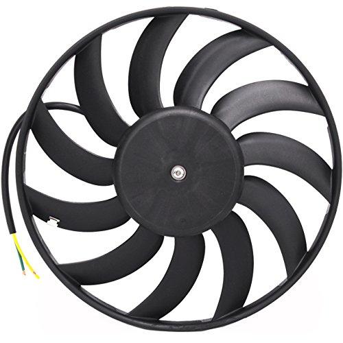 TOPAZ 4F0959455 400W Left Radiator Cooling Fan