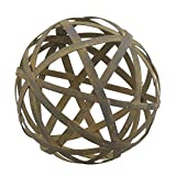 Stonebriar SB-5199B Medium Rustic Metal Orb Filler