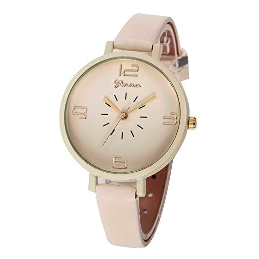 849ad72ac Triskye Women Analog Quartz Watches Business Casual Checkers Faux Leather  Strap Band Round Wrist Watch Fashion