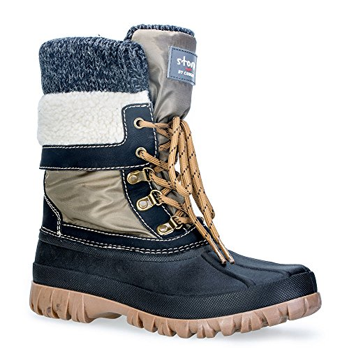 Cougar Women's Creek Creek Khaki Boot Cougar OZZg0