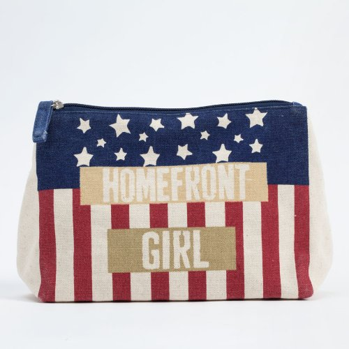 Enesco Homefront Girl Cosmetic Bag