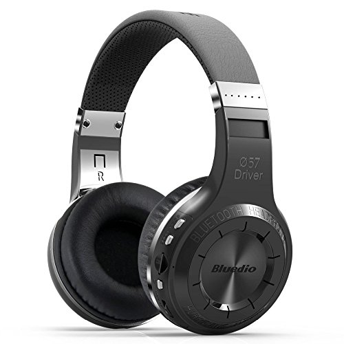 Wireless Headset,Meillion Wireless Headset Super Bass Stereo Wireless Headphone With Microphone FM Radio TF Card Slot for for iPhone iPad Samsung Tablets All Smartphones (Black) ()