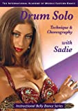 Learn Drum Solo Technique & Choreography with SADIE - Belly Dance Lesson DVD