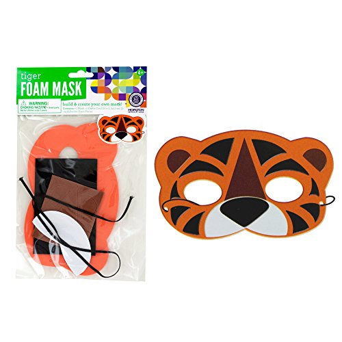 123-Wholesale - Set of 48 Create Your Own Foam Animal Mask - Crafts Do-it-yourself Craft Kits - Do It Yourself Mask