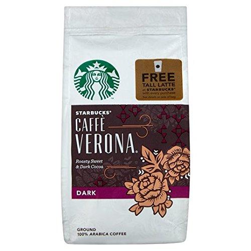 Starbucks Verona Mezcla de café molido 200g: Amazon.es: Alimentación y bebidas