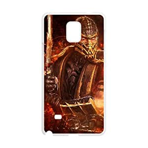 mortal kombat Samsung Galaxy Note 4 Cell Phone Case White xlb2-044648