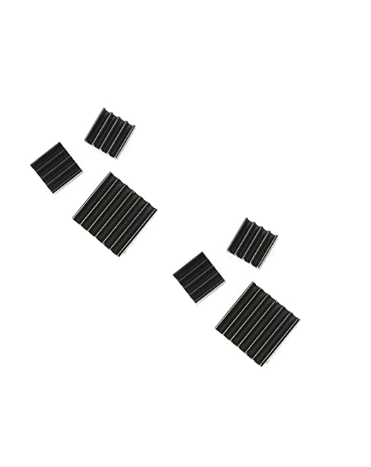 4 opinioni per Com-Four Black Edition- Set 3 dissipatori di calore passivi in varie misure, per