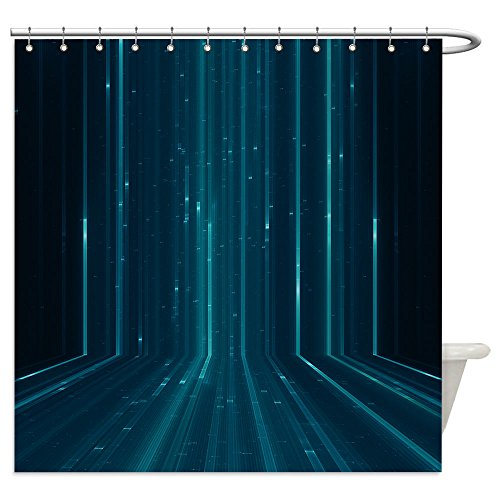 Vanfan Shower Curtains abstract matrix like background 177255581 For (The Matrix Costume Ideas)
