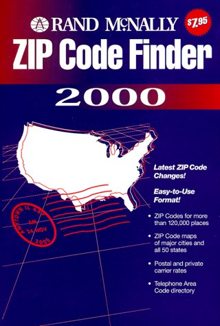 Rand McNally Zip Code Finder 2000 for sale  Delivered anywhere in Canada