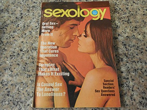 2 Iss Sexology Oct, Nov 1975 Erection Exercises, Oral Sex, Foreplay