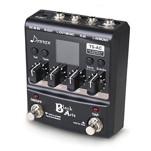 donner black arts multi digital delay guitar pedals import it all. Black Bedroom Furniture Sets. Home Design Ideas