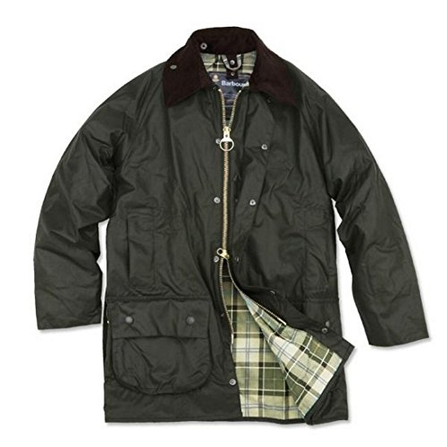 Barbour Men's Beaufort Waxed Cotton Jacket 42 Sage