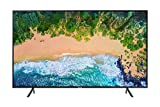 "Samsung Home Entertainment UN50NU7100FXZC 49.5"" 4K Ultra HD Smart LED Television (2018), Charcoal"