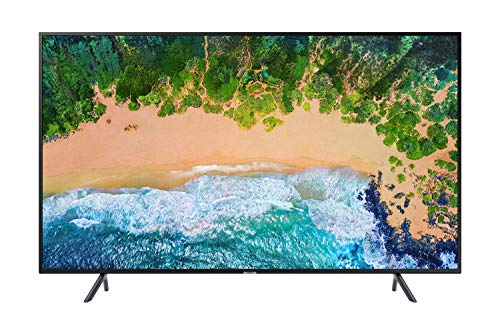 "Samsung UN50NU7100FXZC 50"" 4K Ultra HD Smart LED TV (2018), Charcoal Black [Canada Version]"