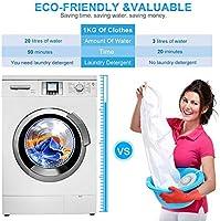 Washwow Desinfectante de lavadora o verduras y frutas con mini ...