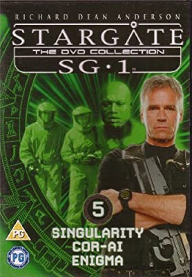 Stargate SG1 - The DVD Collection Volume 5 - Singularity, Cor-Ai, Enigma by Richard Dean Anderson