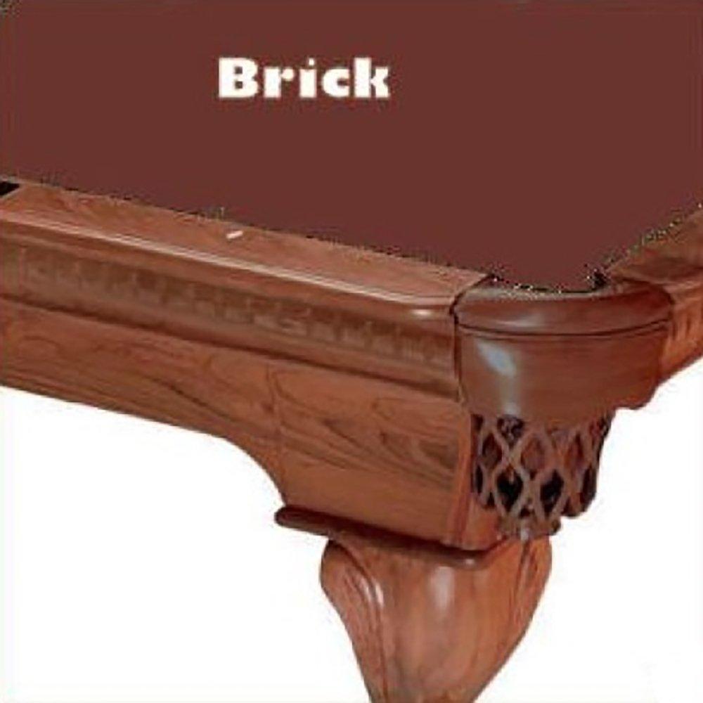 Prolineクラシック303テフロンビリヤードPool 8 Table Clothフェルト B00D37KYUS 8 B00D37KYUS ft.|レンガ Clothフェルト レンガ 8 ft., コンペパートナー:ba4f4acb --- m2cweb.com