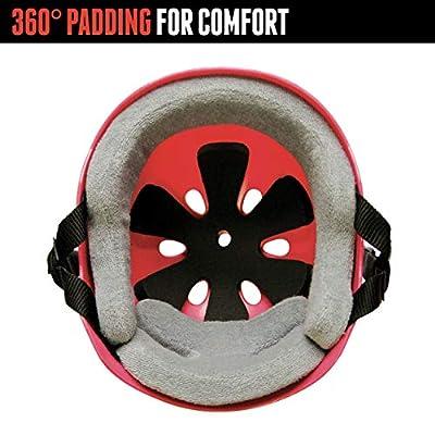 Triple Eight Sweatsaver Liner Skateboarding Helmet, Royal Blue Rubber, X-Large : Skate And Skateboarding Helmets : Sports & Outdoors