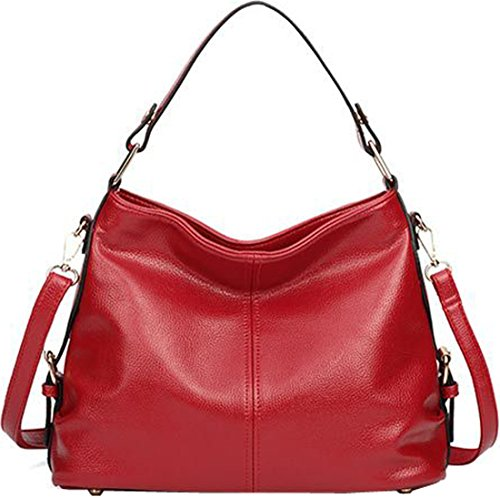 Bag Fashion for Leather Kenoor PU Clearance Women Handle Cross Tote Red Bag Top Handbags Shoulder Purse on body OSppwdq0B