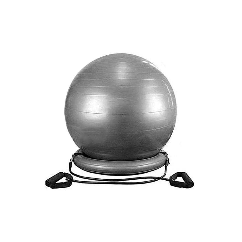 garyone-Office PVC Yoga Ball Base Ring 60cm/23.62in Thick Explosion-Proof Yoga Ball Fixed Base Yoga Ball Chair Office Exercise