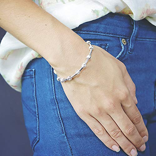 Chelsea Charles Count Me Healthy Journal Bracelet - Silver by Chelsea Charles (Image #2)