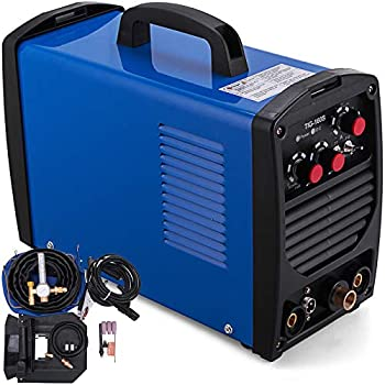 Mophorn Tig Welder 160 Amp Tig Stick Welder 110V/220V Dual Voltage Portable Tig Welding Machine TIG ARC MMA Stick IGBT DC Inverter Welder Combo Welding ...