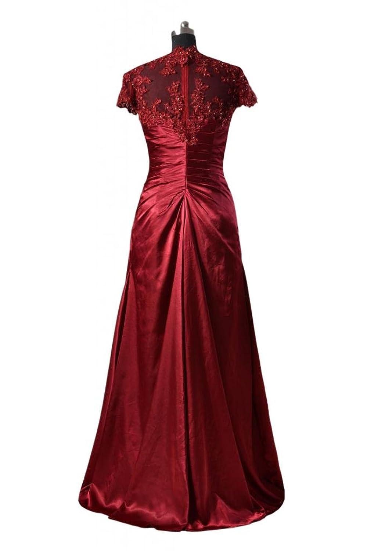 DaisyFormals Long Mother of Bride Dress Long Evening Dress w/Cap Sleeves(PR3504)