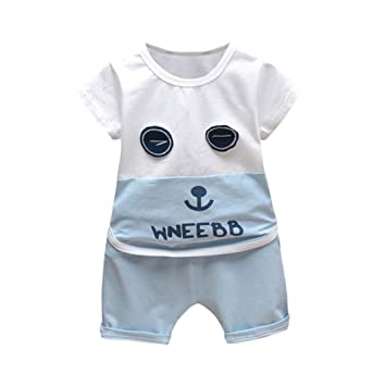 49650df34648 HEHEM Baby Kids Clothes Boys Tops   Shorts Pants Outfits Children ...