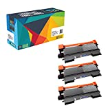 Do it Wiser Compatible Black Toner Cartridge for TN450 for use in Brother HL-2270DW HL-2240D HL-2280DW HL-2230 HL-2220 HL-2250DN HL-2240 - DCP-7060D DCP-7065DN - Yield 2,600 - Black 3 pack