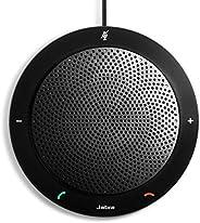 Jabra Speak 410 Corded Speakerphone for Softphones – Easy Setup, Portable USB Speaker for Holding Meetings Any