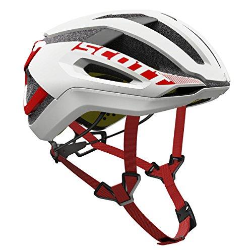 Scott Centric Plus Bike Helmet – White Red Medium