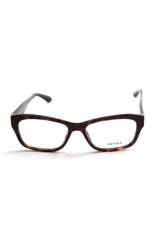 23ea6935ca7 Amazon.com  Prada Rx Eyeglasses Frames Vpr 24R 2AU-1o1 52x16 Havana Tortoise  Made in Italy  Clothing