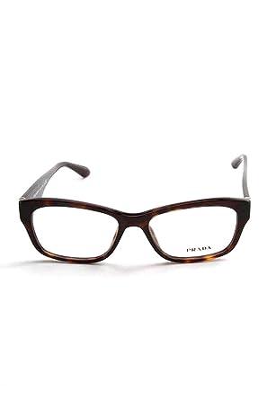 45a390a75f58 Amazon.com: Prada Rx Eyeglasses Frames Vpr 24R 2AU-1o1 52x16 Havana Tortoise  Made in Italy: Clothing