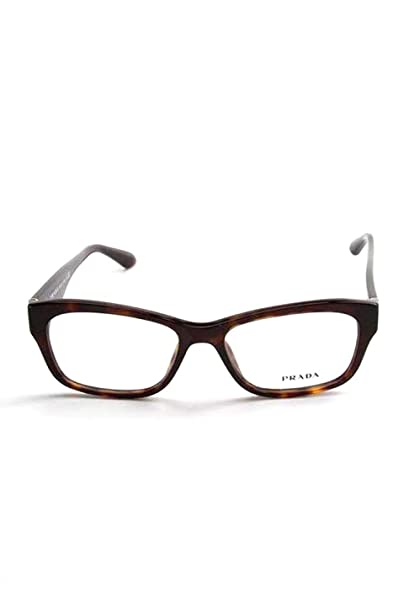 39c79db3cb Amazon.com  Prada Rx Eyeglasses Frames Vpr 24R 2AU-1o1 52x16 Havana Tortoise  Made in Italy  Clothing