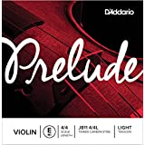 D'Addario Prelude Violin Single E String, 4/4 Scale, Light Tension