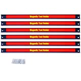 Goplus 6PCS 18' Magnetic Tool Holder, Organizer Racks Set, Metal Storage Organizer Bar for Garage/Workshops (Mounting Screws Included)