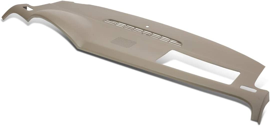 Beige ABS Dash Board Cover Cap Overlay Replacement for Chevy Tahoe Silverado GMC Yukon XL Sierra 07-14