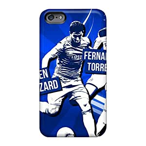 Shockproof Hard Phone Cases For Apple Iphone 6 (cTP25351Ylgz) Provide Private Custom Trendy Fc Chelsea Players Image
