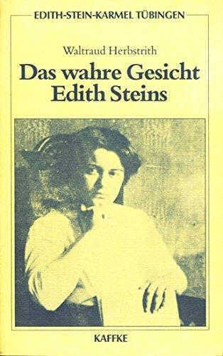 edith-stein-karmel-tbingen-band-4-das-wahre-gesicht-edith-steins