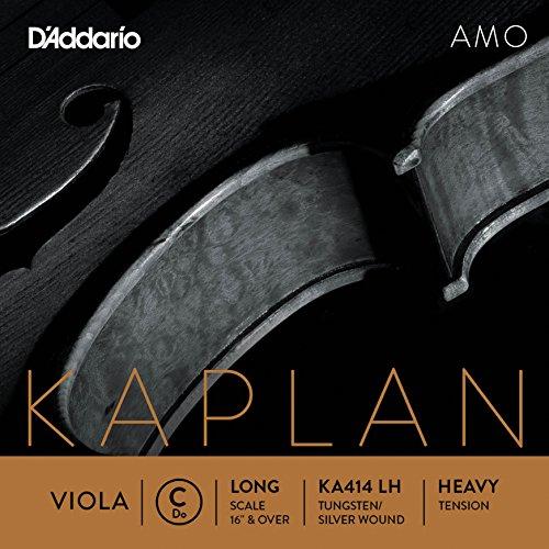 D'Addario KA414 LH Kaplan Amo Viola C String by D'Addario Woodwinds