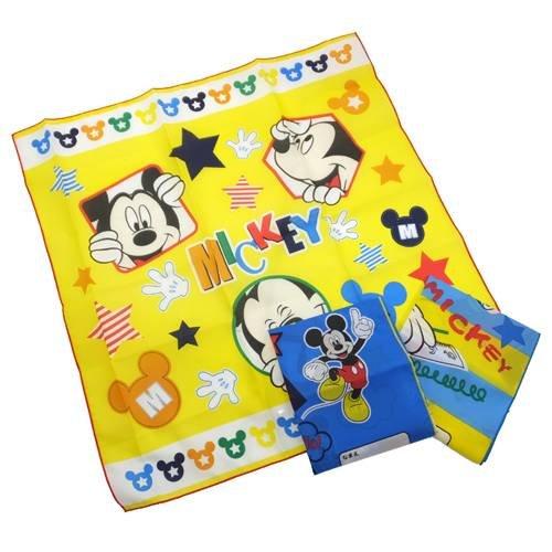 Mickey Mouse 'Pop u0026 Mickey' lunch cross Set of three Disney character goods ( napkin )