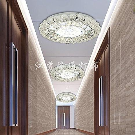 Continental pasillo circular sencillo luz luz de techo ...