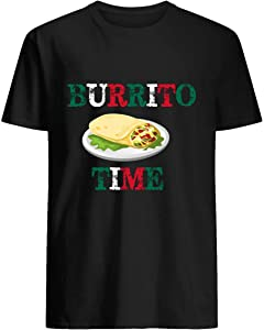 Cinco De Mayo Shirt Funny Burrito Mexican Flag Food 7 T Shirt Hoodie For Men Women Unisex T-Shirt Customized